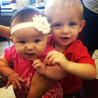 Graham and little Miss Hadley :)